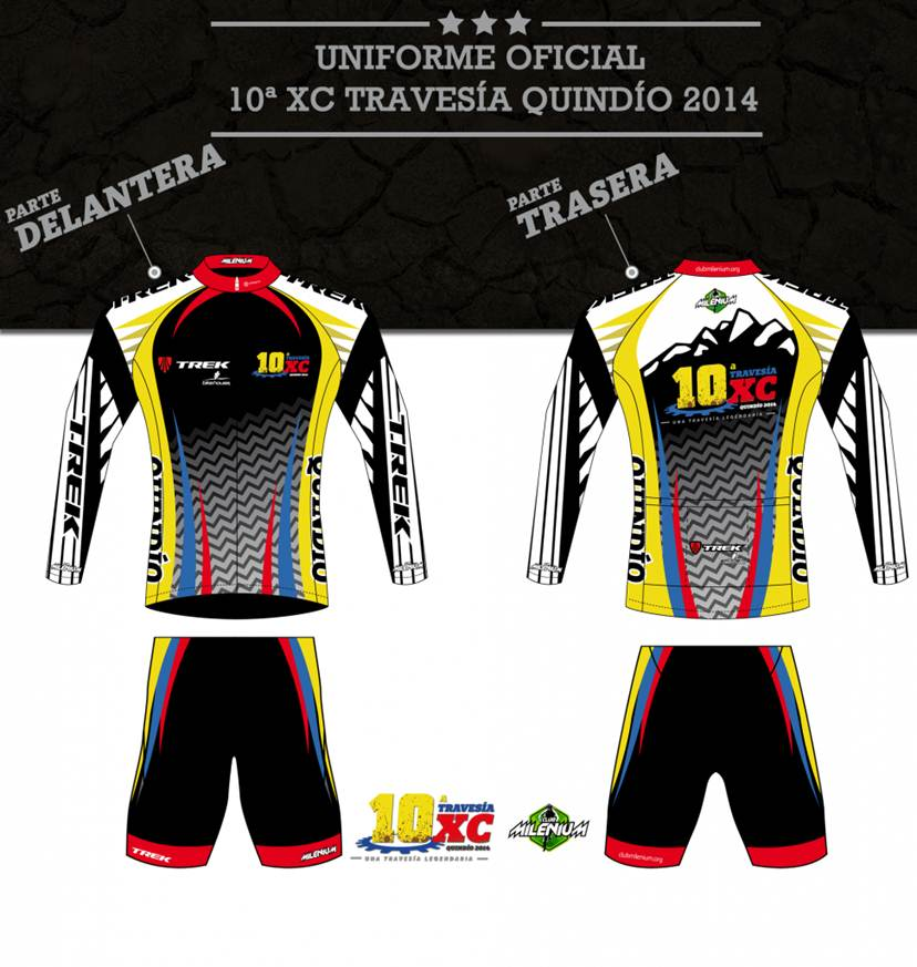 travesia quindio 2014 my bike uniforme