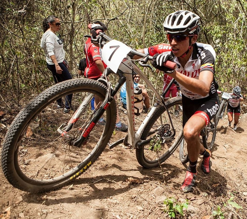 Bernal Pushing Himself in Mountain Bike Racing
